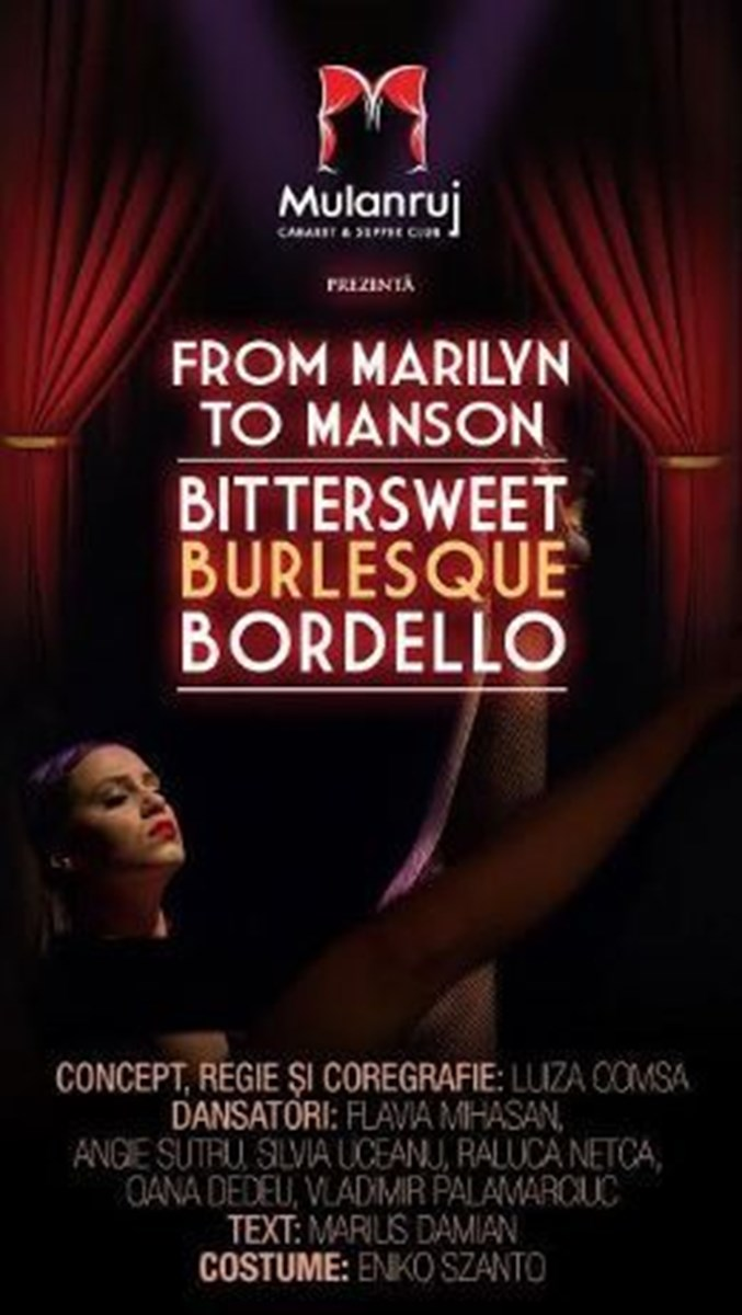 Mulanruj Dining Theatre - FROM MARILYN TO MANSON