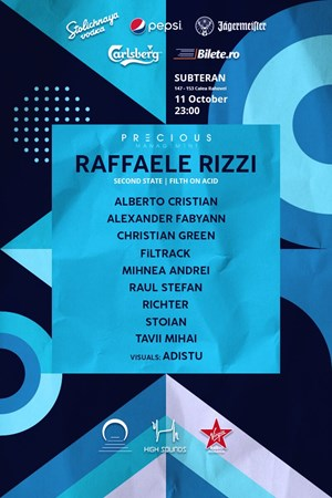 2nd anniversary w/ Raffaele Rizzi and High Sounds squad at Subteran