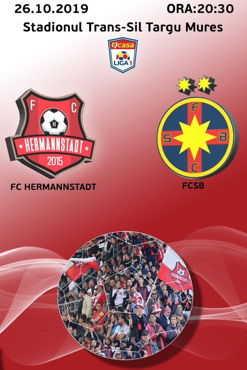 FCSB - Hermannstadt 3-0. Mihai Teja, prima victorie pe...  |Fcsb- Hermannstadt