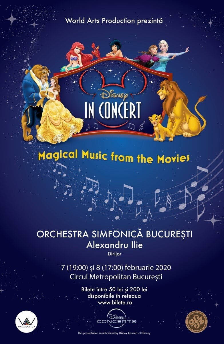 bilete Disney In Concert - Magical Music From The Movies