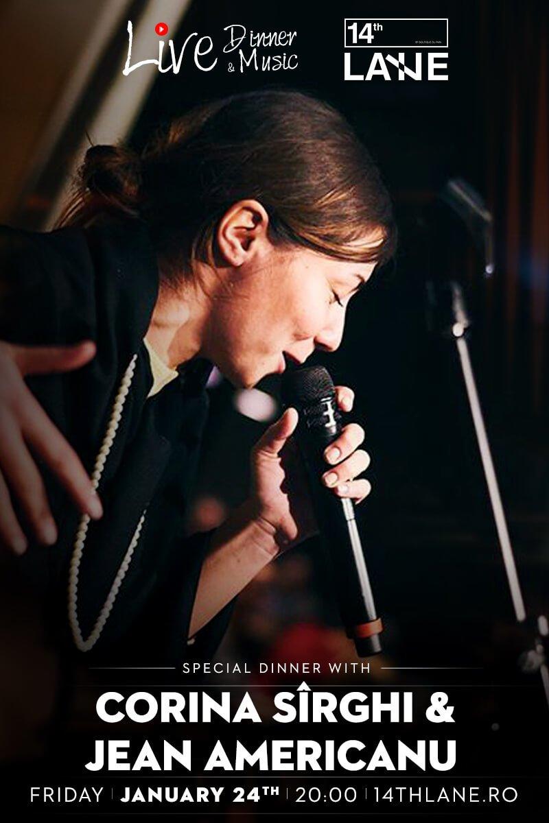 Concert Corina Sirghi Taraf Jean Americanu - 24 ian 2020