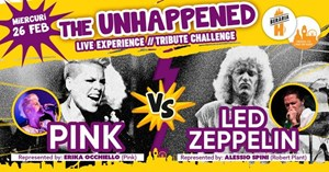 Pink vs Led Zeppelin The Unhappened Live Experience