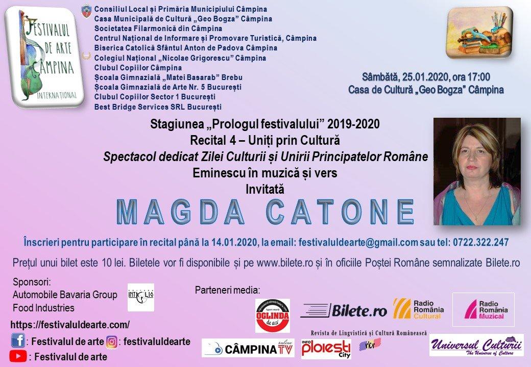 Prologul Festivalului - 25 ian 2020
