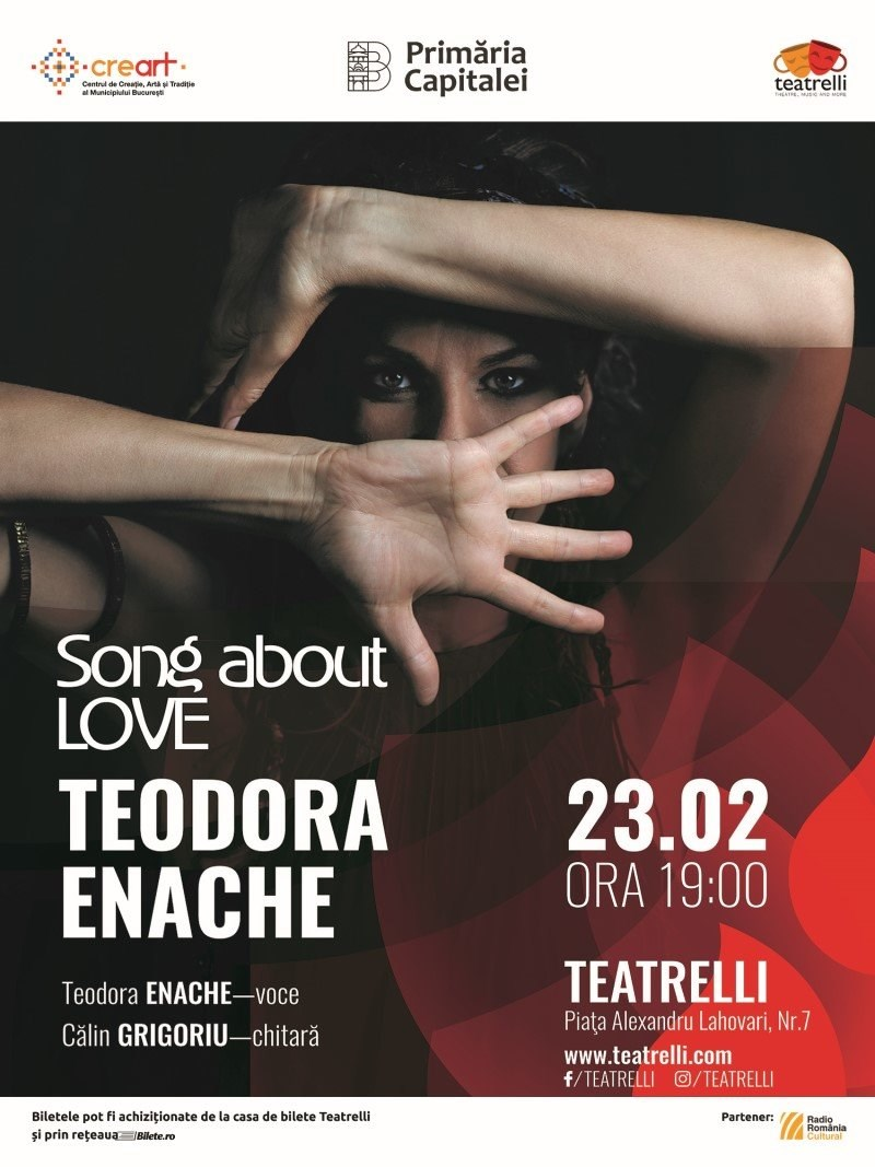 bilete Teodora Enache - Song about LOVE