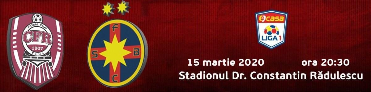 CFR Cluj, egal în deplasare cu FCSB | Sport in Cluj  |Fcsb- Cfr Cluj