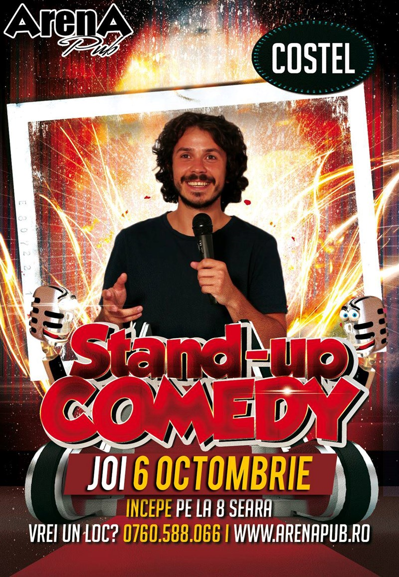 Stand- Up Comedy - Costel at Arena Pub