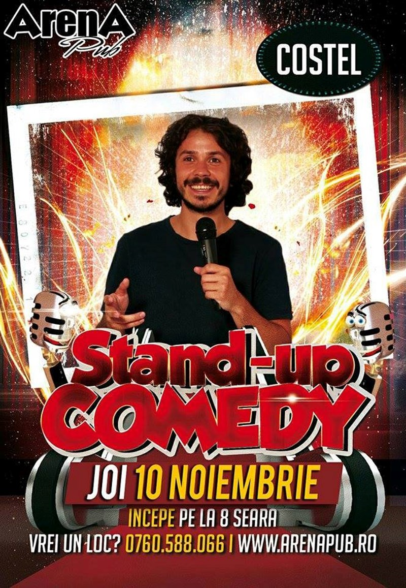 Stand- Up Comedy - Costel at Arena Pub Regie
