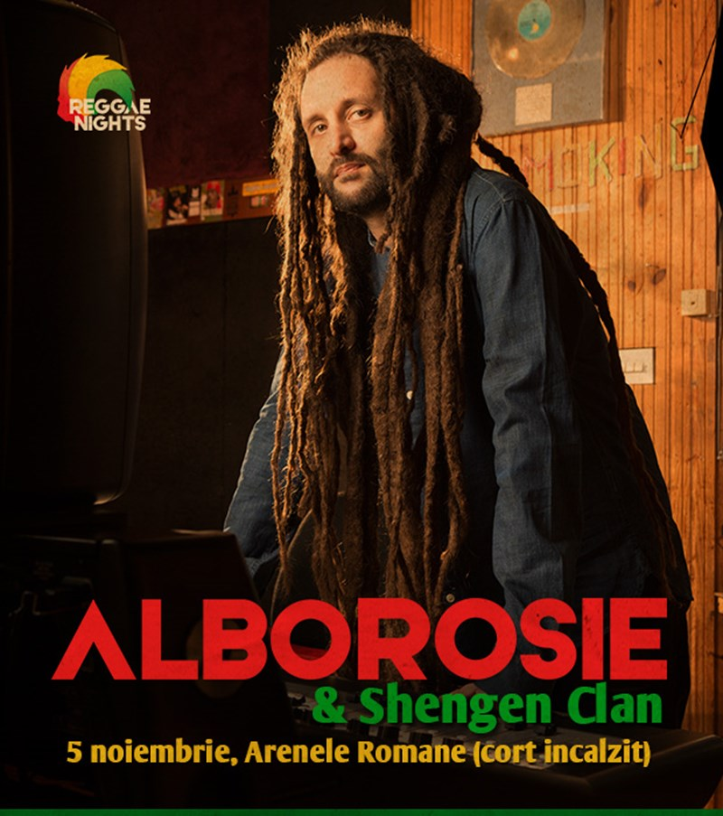 Alborosie live in Romania
