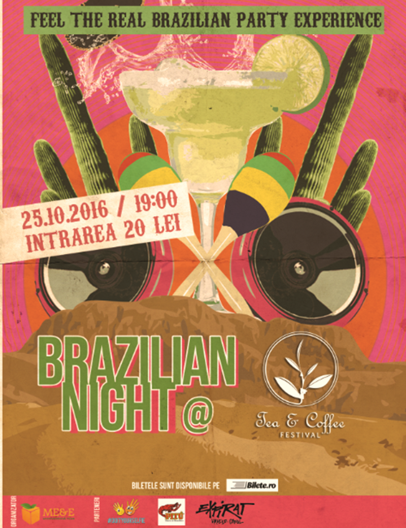 Seara braziliana Tea & Coffee Festival