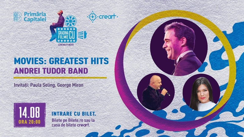bilete Concert Andrei Tudor Band - Movies: Greatest Hits