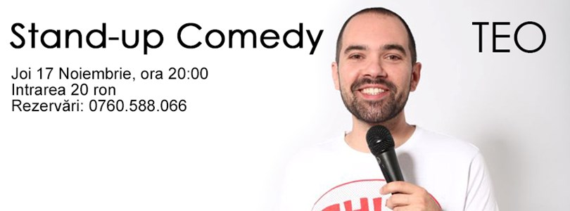 Stand- Up Comedy cu Teo at Arena Pub Regie