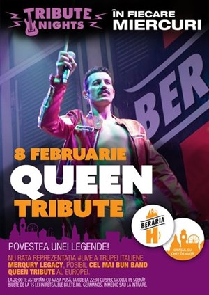 Queen Tribute cu MerQury Legacy