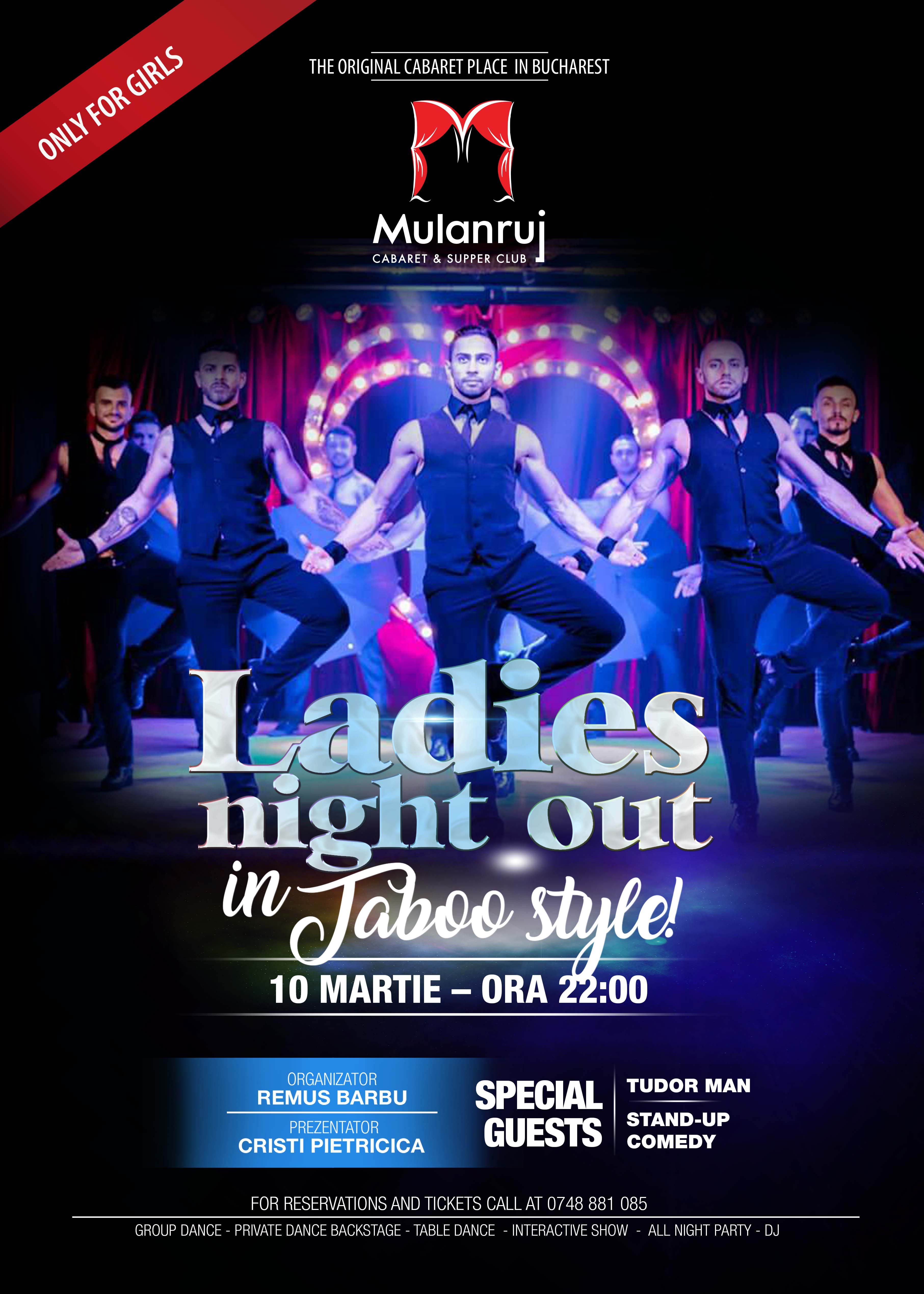 Mulanruj Dining Theatre - Male Cabaret by TABOO BOYS