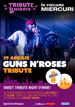 Concert Guns N' Roses Tribute