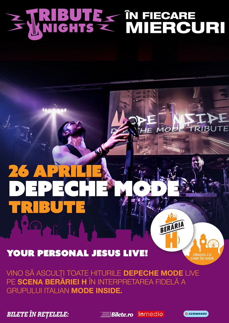 Concert Depeche Mode Tribute