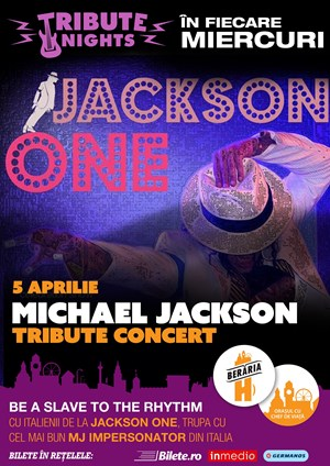 Concert Michael Jackson Tribute cu Jackson One
