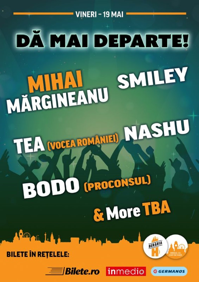 Mihai Margineanu, Smiley, Tea & Friends - Da mai departe!