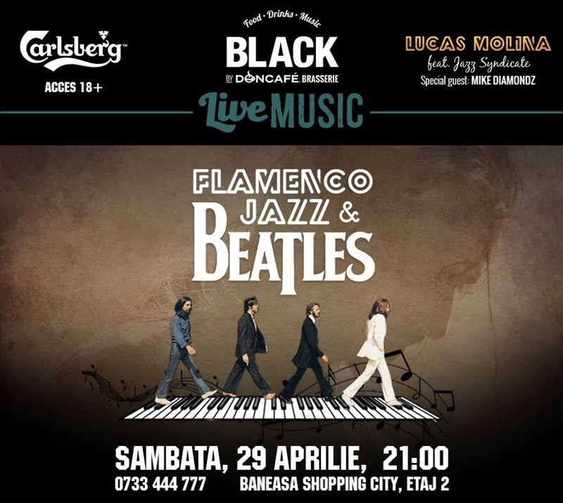 Beatles Flamenco Jazz cu Lucas Molina feat Jazz Syndicate