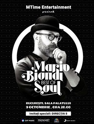 Mario Biondi - Best of Soul European Tour 2017
