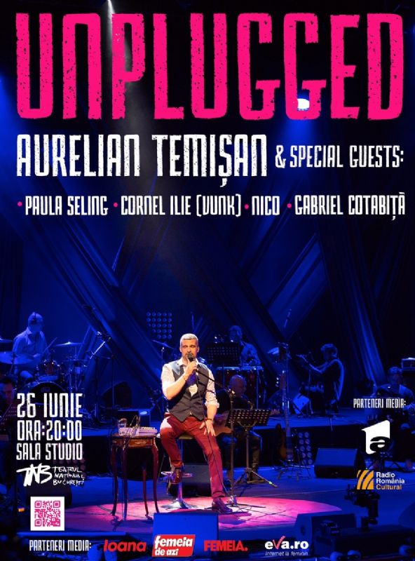 UNPLUGGED - Aurelian Temisan & Special Guests