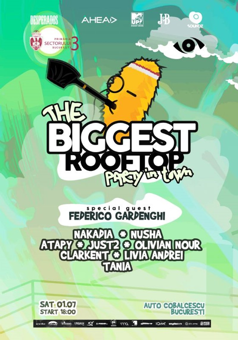 The biggest rooftop party in town 5th edition by day & night