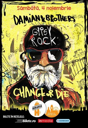 Damian & Brothers Gipsy Rock - Change or Die