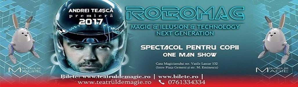 RoboMag One man show