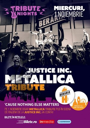 Metallica Tribute W/ Justice INC. (IT) @ Tribute Nights