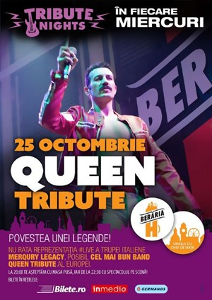 Queen Tribute W/ Merqury Legacy (IT) @ Tribute Nights
