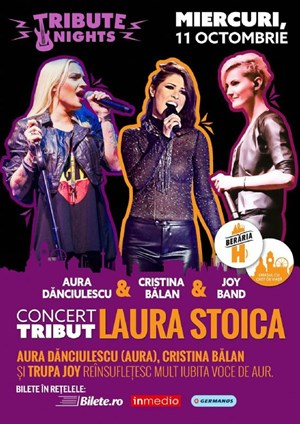 Concert Tribut Laura Stoica @ Tibute Nights