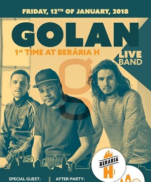 GOLAN (Live Band) | 1st Time at Beraria H