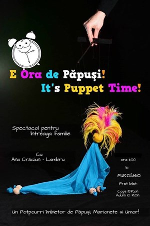 It's Puppet Time!