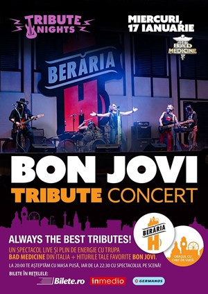 Bon Jovi Tribute Concert @ Tribute Nights