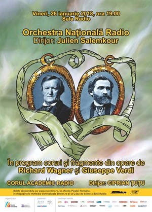 Orchestra Nationala Radio – Wagner, Verdi