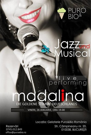 Jazz&Musical Live Session w Madalina