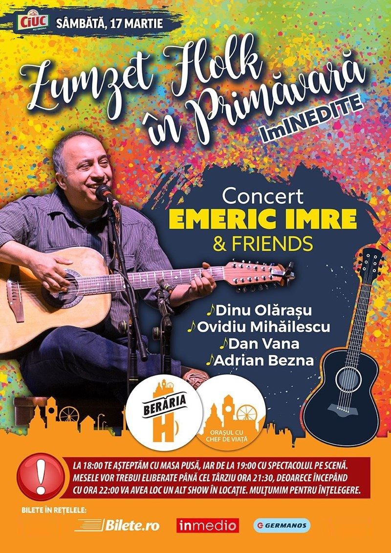 "Emeric Imre & Friends - Zumzet Folk in Primavara - ""ImINEDITE"""