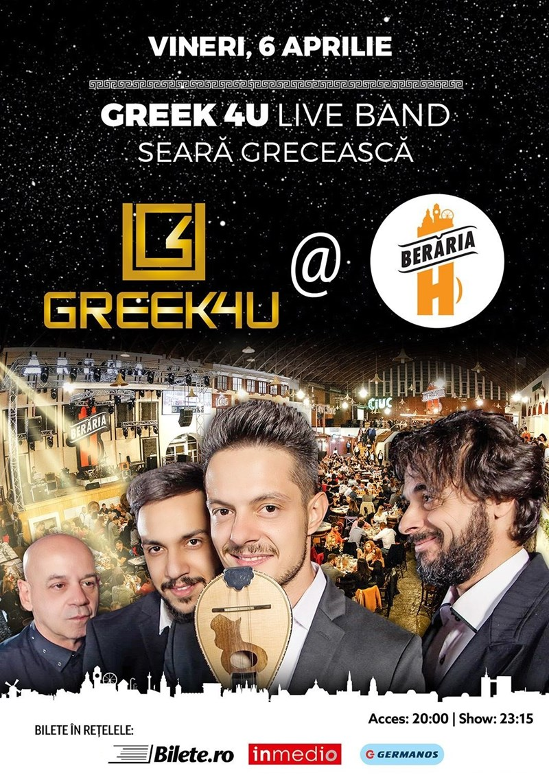 Greek 4U Live Band - Seara Greceasca