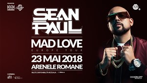 Sean Paul - Mad love - Europe tour