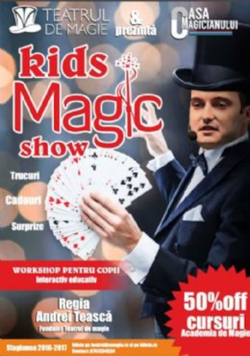bilete Kids Magic Show&Workshop